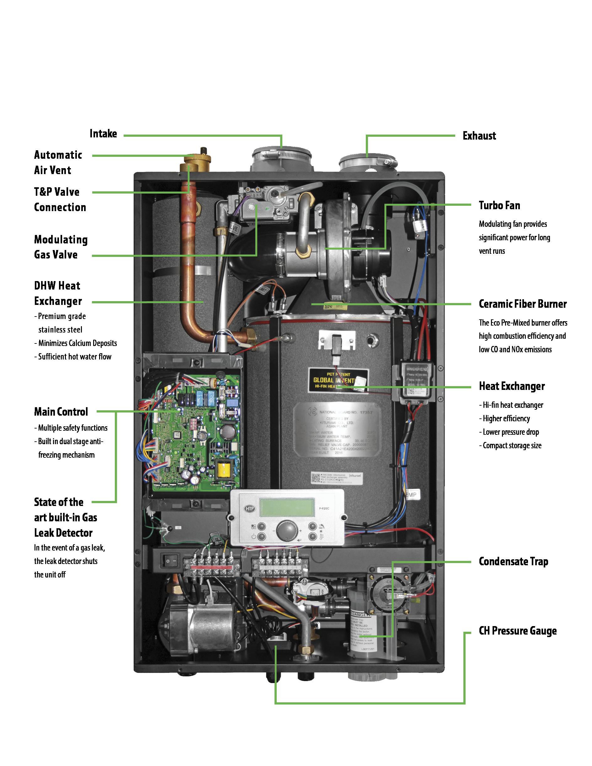 Condensing Boiler Heating Cooling amp Air Ebay
