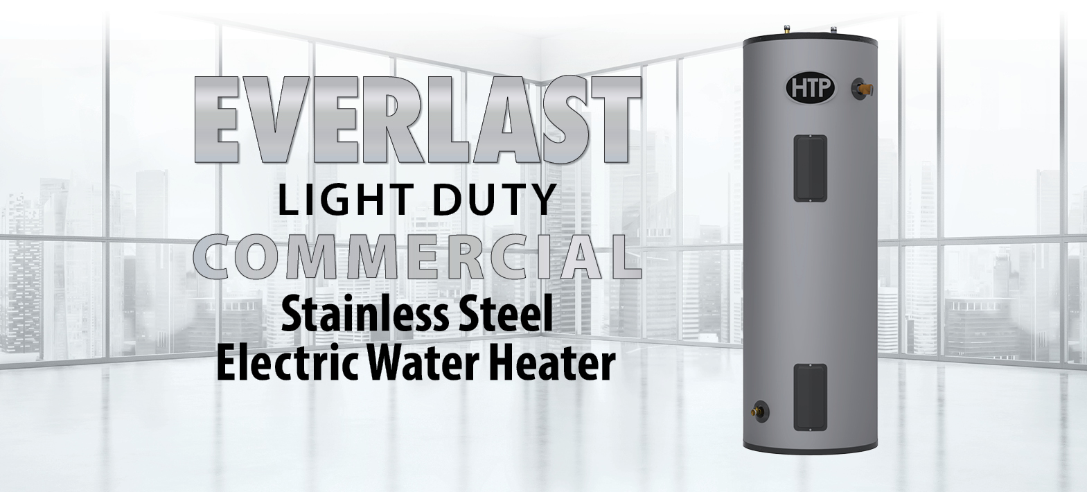 Htp Everlast Light Duty Commercial Electric Water Heater