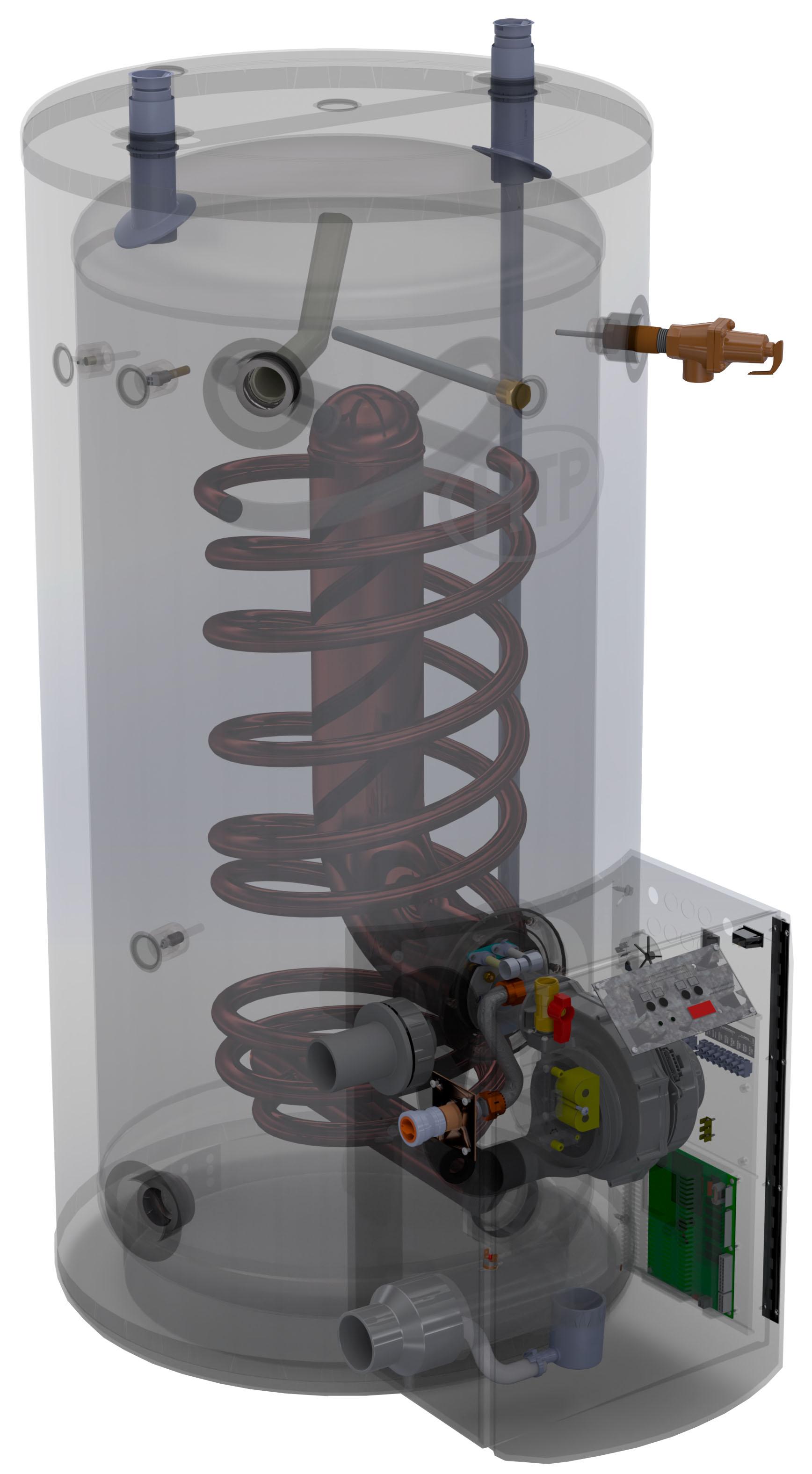 Htp Phoenix Multi Fit Water Heater