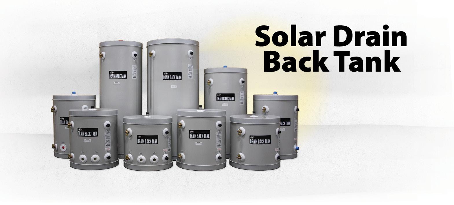 HTP - Solar Drain Back Tank