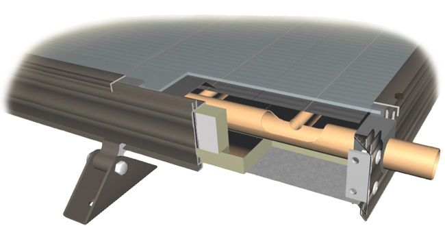 Solar Flat Panel Tube Collector