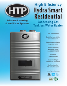 Hydra Smart Residential Tankless Water Heater Documents