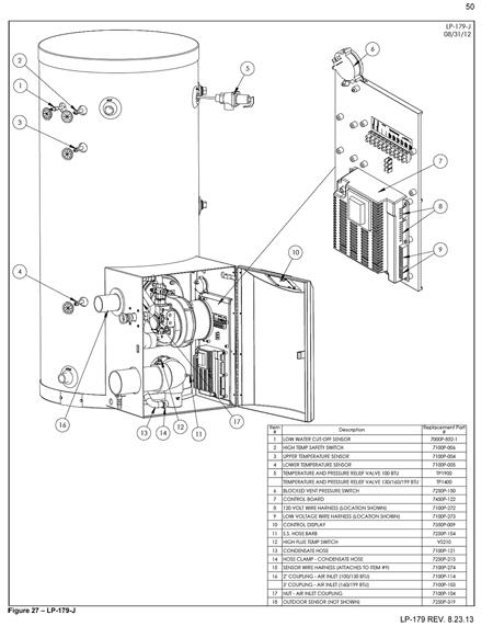 phoenix solar water heater - parts drawings